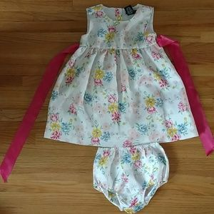 Chaps Easter/spring floral dress